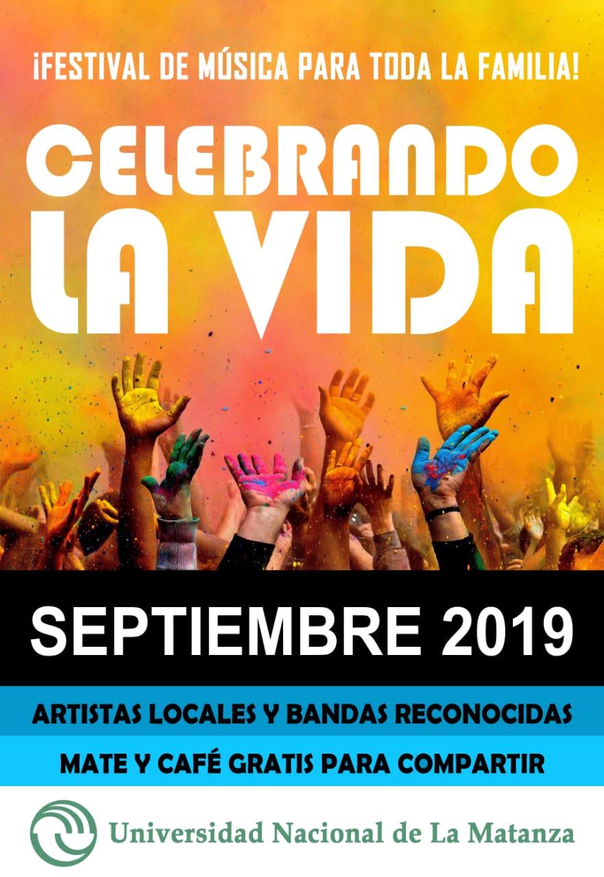 Photo of ¡FESTIVAL DE MÚSICA 2019! CELEBRANDO LA VIDA