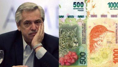 Photo of El cambio de billetes costará $ 6.000 millones de pesos