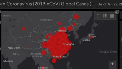 Photo of Coronavirus live map