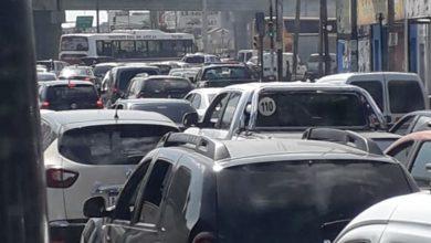Photo of San Justo: Metrobus mano cañuelas cortado