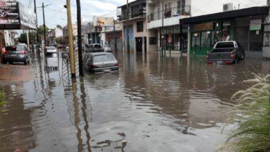 Photo of La Matanza bajo agua