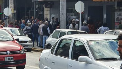 Photo of JUBILADOS: LARGAS FILAS EN LOS BANCOS DE SAN JUSTO