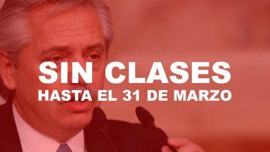 Photo of ¡PARA EL PAÍS! Suspenden las clases hasta el 31 de marzo, cierran fronteras y reducen el transporte público