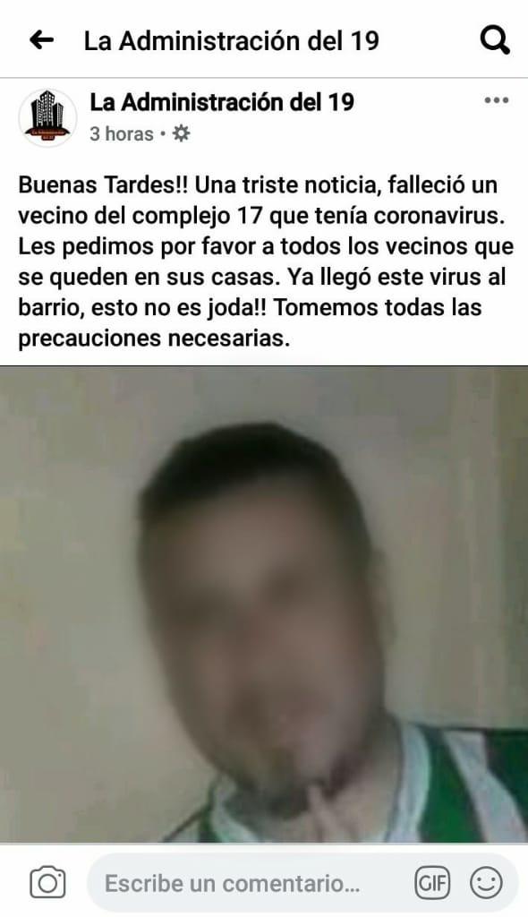 COMUNICADO DE LA ADMINISTRACION